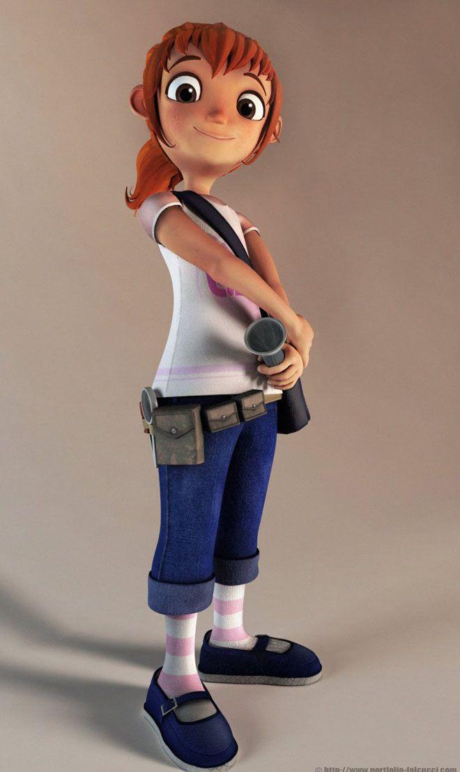 Thunderbird 6 Cartoon Characters : Funny cartoon characters and d models design