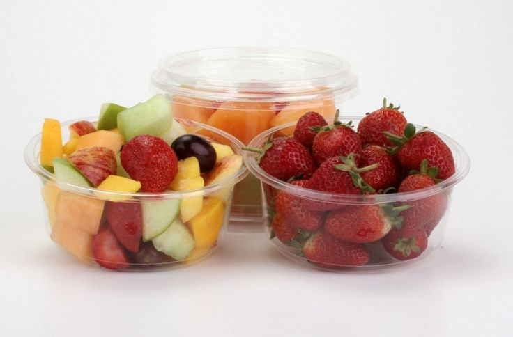 Clear PLA Containers - made from plants, not oil!