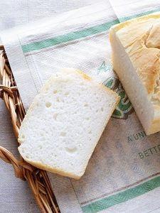 グルテンフリーのもっちり米粉食パン