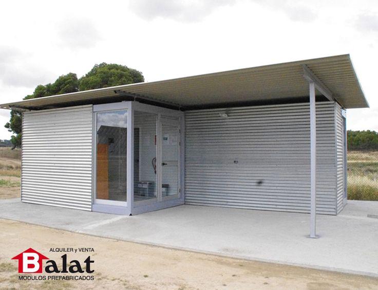 Caseta prefabricada para parque solar rada navarra - Balat modulos prefabricados ...
