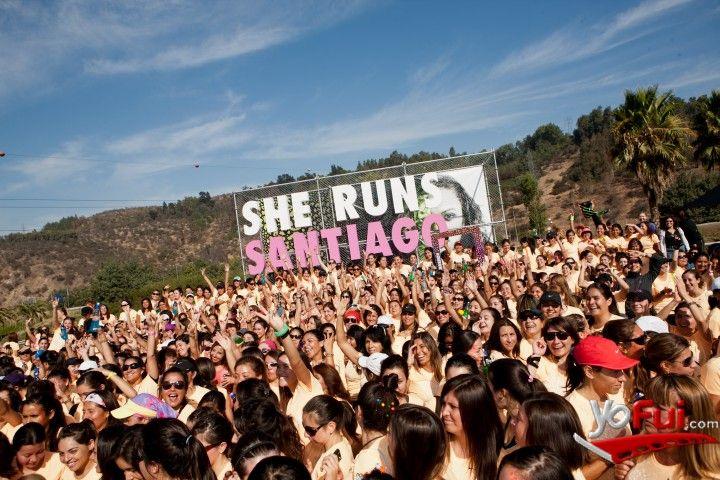 YoFui.com:  en Corrida Nike sólo para ellas: She Runs Santiago , Centro Cívico de Vitacura, Santiago (Chile)