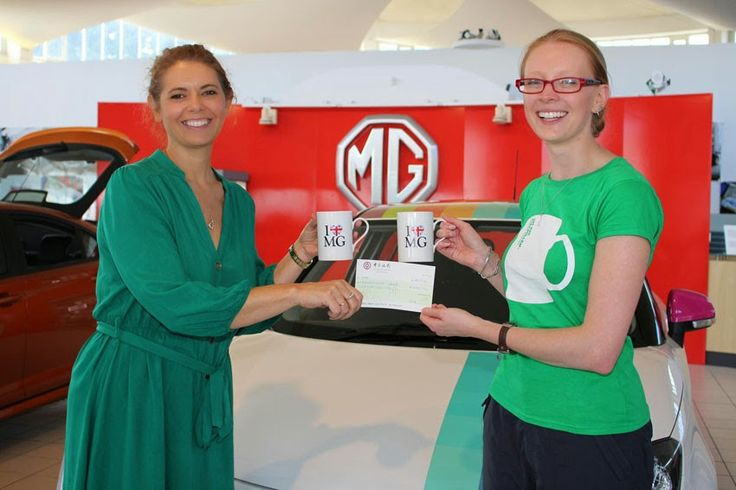 MG raises over £2,500 for Macmillan Cancer Support