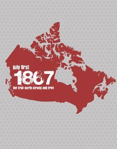 1867 Canadian Patriotic Printable