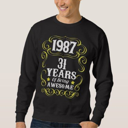 31st Birthday Shirt For Men Women