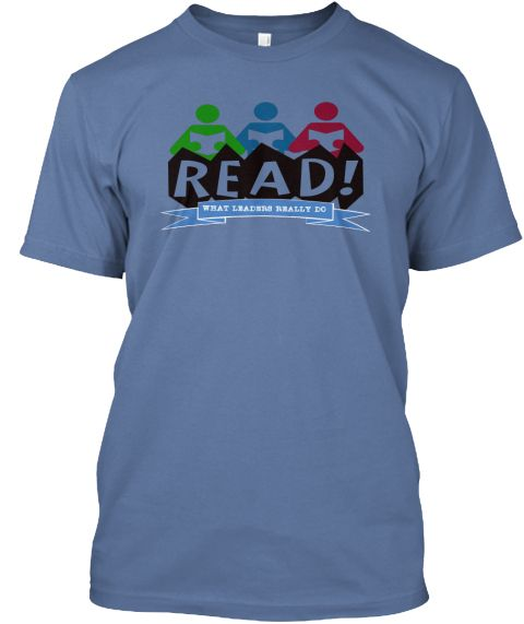 Read  Denim Blue T-Shirt Front