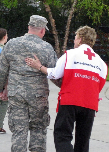 Service to the Armed Forces: North Carolina National Guard Deployment by American Red Cross, via Flickr