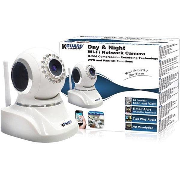 Kguard trådløst nettverk kamera med pan / tilt funksjon | Satelittservice tilbyr bla. HDTV, DVD, hjemmekino, parabol, data, satelittutstyr