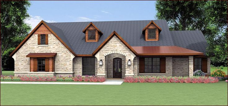 House Plans by Korel Home Designs Plan S2750L 2750 sq. ft. Similar exterior for the plan with 2495 sq. feet. This is according to the Facebook page. Love this exterior!