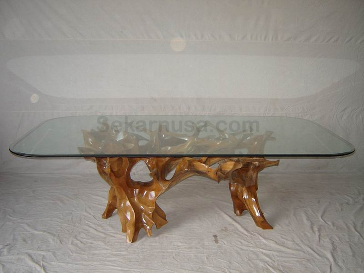 teak root dining table New House Ideas Pinterest  : b06f4f5fb8b648fe8a53eebb1f21904a from www.pinterest.com size 736 x 552 jpeg 97kB