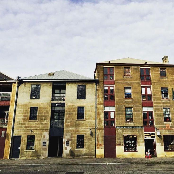 Salamanca Arts Centre ~ article and photo for think-tasmania.com ~ #Hobart #Tasmania #Salamanca