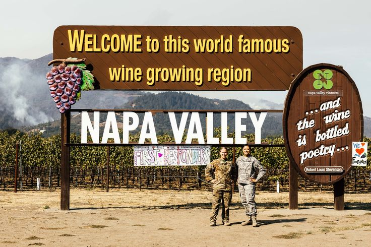 Here's how California wine country is coming together to rebuild.