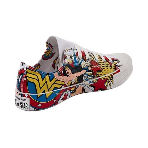Converse All Star Lo Wonder Woman Sneaker, Wonder Woman - White, at Journeys Shoes