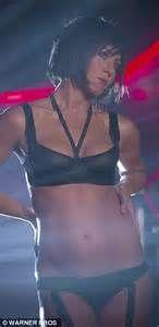 Jennifer Aniston sexy bra and skirt in Horrible Bosses 2 ...