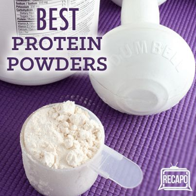 Dr Oz said that protein powder is not just for men, and showed some types of protein powder for women: brown rice, egg white, and casein protein powder.