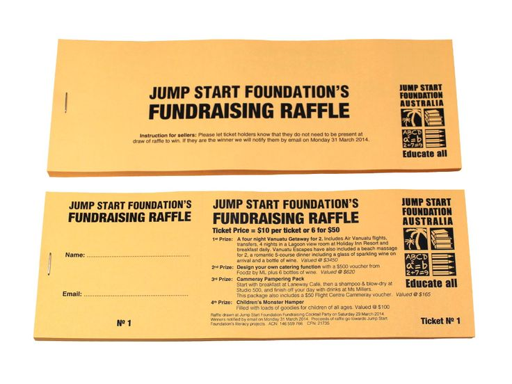 Best Raffle Ticket Designs Images On   Ticket Design