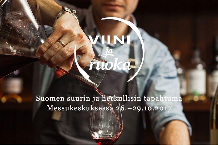 Viini ja Ruoka valtaa Messukeskuksen – VOITA LIPUT! /// ARVONTA, uutisia ja vinkkejä viinimaailmaan liittyen! Poimi vinkit tulevaan Viini ja Ruoka -tapahtumaan ja osallistu messulippujen arvontaan uudella enJOY -sivustolla.