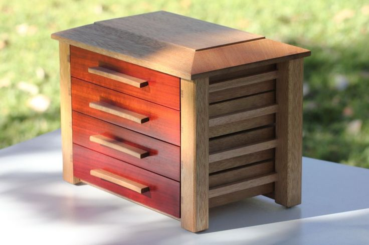 Bloodwood Jewellery Box #warawoodshed