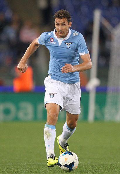 Miroslav Klose of SS Lazio