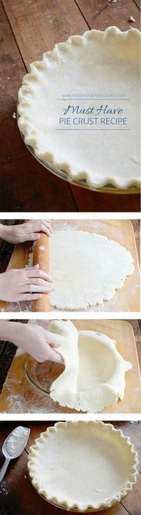 How are your pie crust making skills? This is a must have recipe along with some great tips for getting your pastry to turn out perfectly every time.