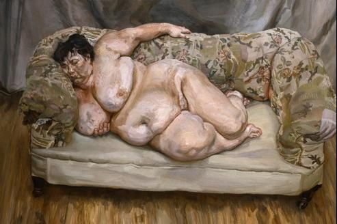 Benefits Supervisor Sleeping, par Lucian Freud, 1995 ==> https://fr.wikipedia.org/wiki/Lucian_Freud