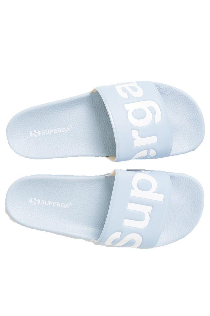 SUPERGA - Pool Slide - Dusty Blue