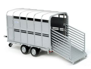 The 1/32 Ifor Williams Livestock Trailer from the Siku Farmer Series - Discounts on all Siku Diecast Models at Wonderland Models.    One of our favourite models in the Siku Farmer Series Trailers range is the Siku Ifor Williams Livestock Trailer.    Siku manufacture wonderful, amazingly accurate and detailed diecast models of all sorts of vehicles, particularly tractors and trailers including this Ifor Williams Livestock Trailer which can be complemented by any of the items in the Farmer…