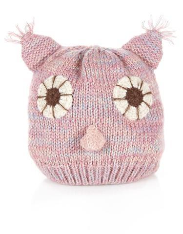 owl pull on hat