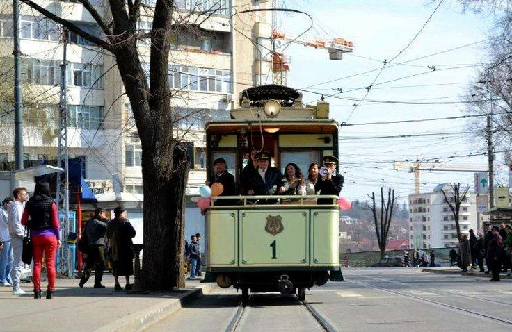 This vintage street-car has been brought in #Iasi over a hundred years ago. It was recently renewed. 'This #street-car will be correctly endowed and will be able to circulate during holidays, starting with #December the 15 th. 2013' local public transport representatives declared.