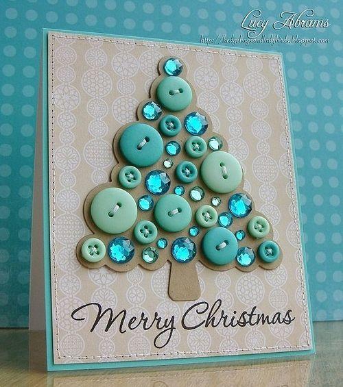 Новогодние открытки сделать своими руками