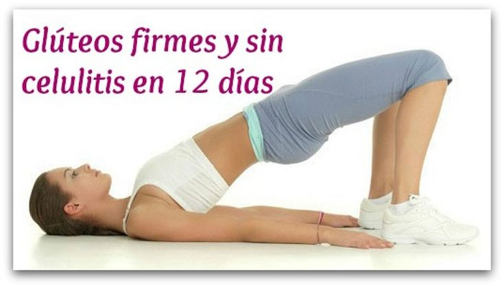 Si quieres conseguir unos glúteos impecables, ¡no os perdáis este reto de ejercicios para conseguirlo en 12 días!