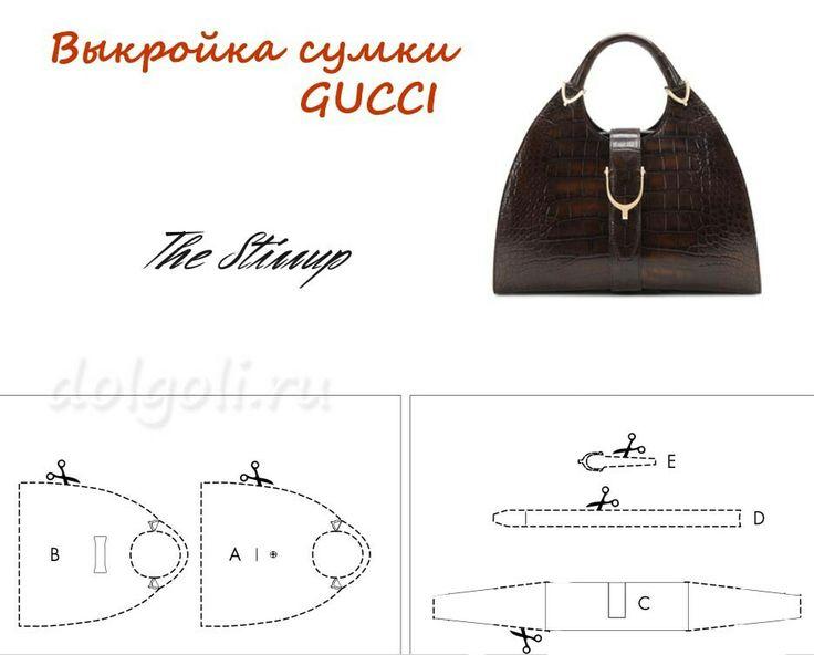 Gucci inspired handbag pattern