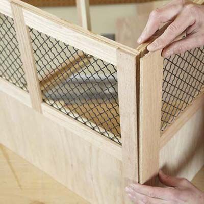 Photo: Laura Moss | thisoldhouse.com | from How to Build a Dog Crate
