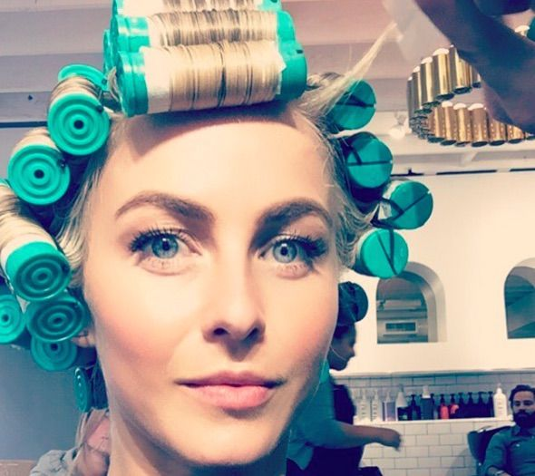 Julianne Hough did something that you really don't hear many people doing these days. She took her shag haircut to another level and got a perm! While it's