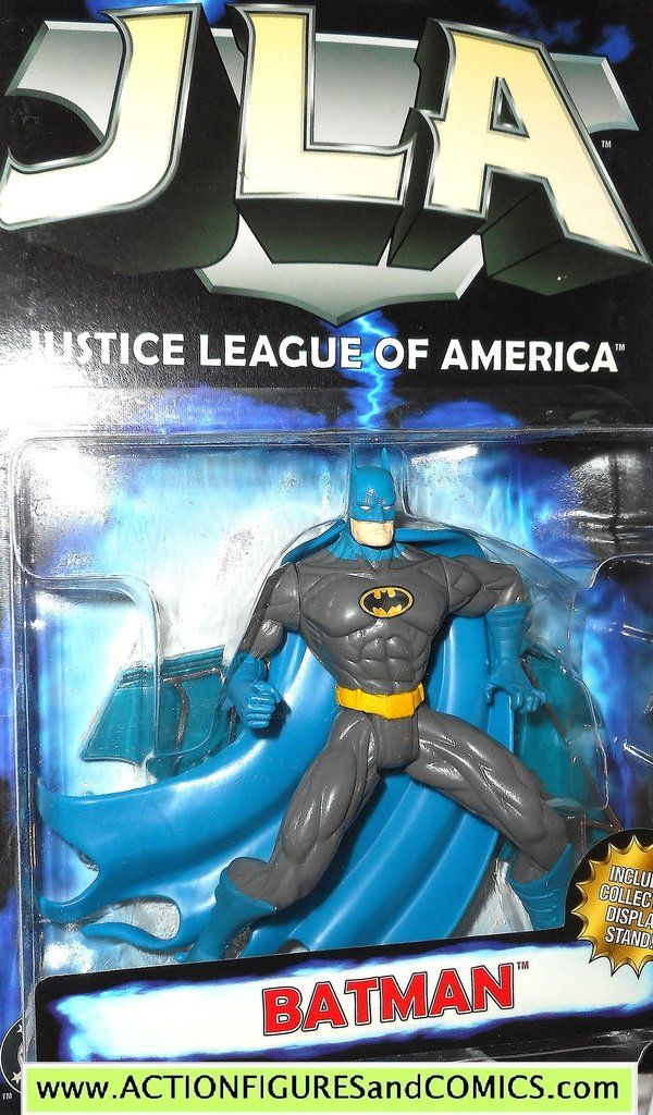 Opened Kenner JLA Action Figures 5 inch