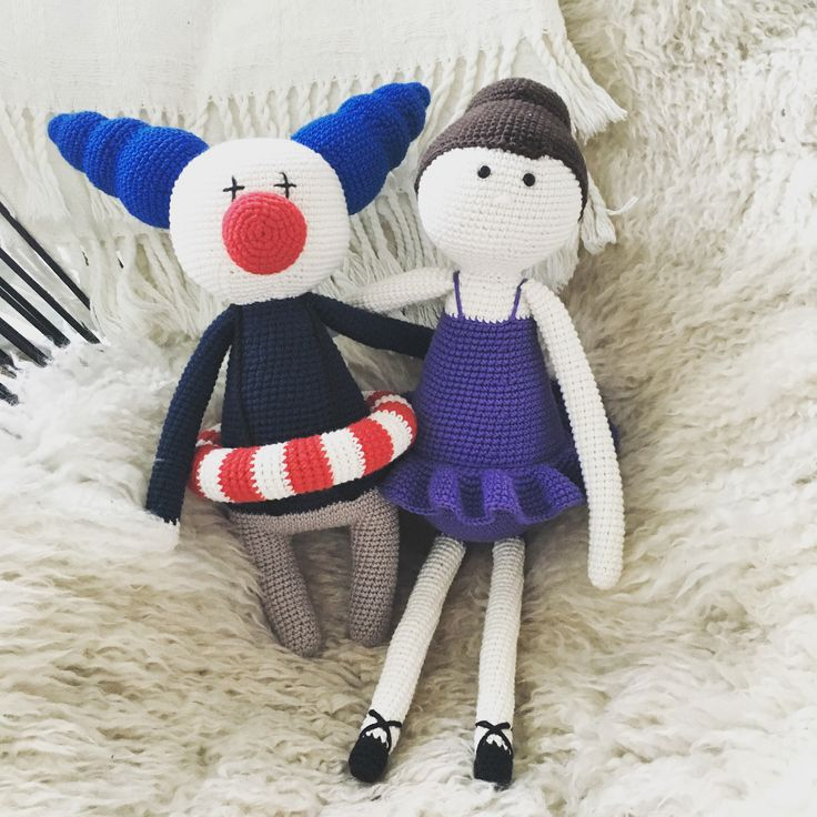 The Clown Of The Day and The Ballerina from Little Happy Circus