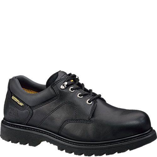 Men's Caterpillar Second Shift Steel Toe Work Boot, Size: 9.5 M, Black Seminole