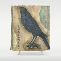 Shower Curtains by Stinky Pie Art | Society6