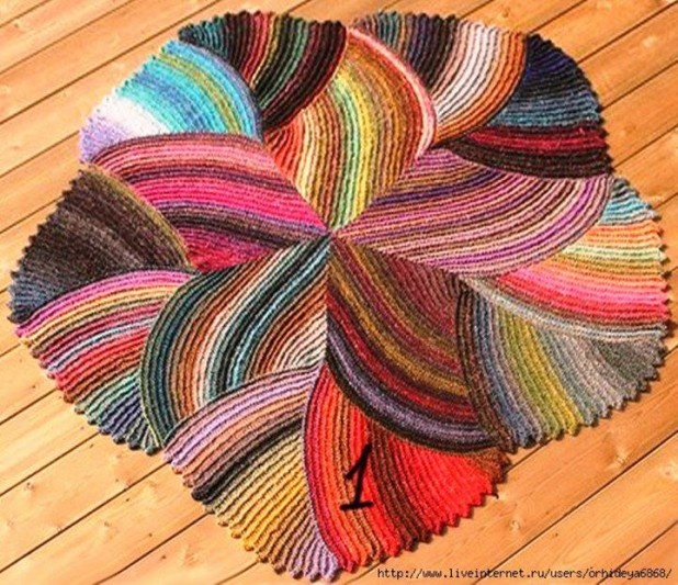 Knit Rug Pattern Free : 37 best images about Knit?Rugs on Pinterest Free pattern, Yarns and Bath mats