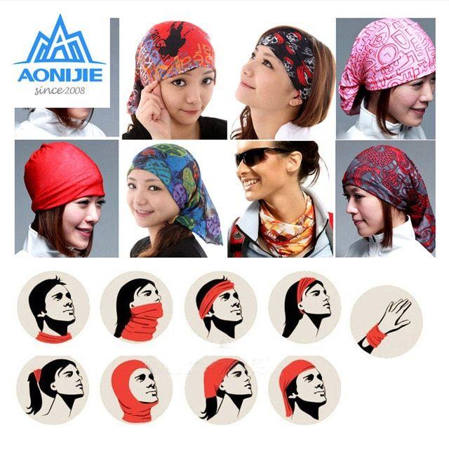 Magic Headwear School Crossing Outdoor Scarf Headbands Bandana Mask Neck Gaiter Head Wrap Mask Sweatband