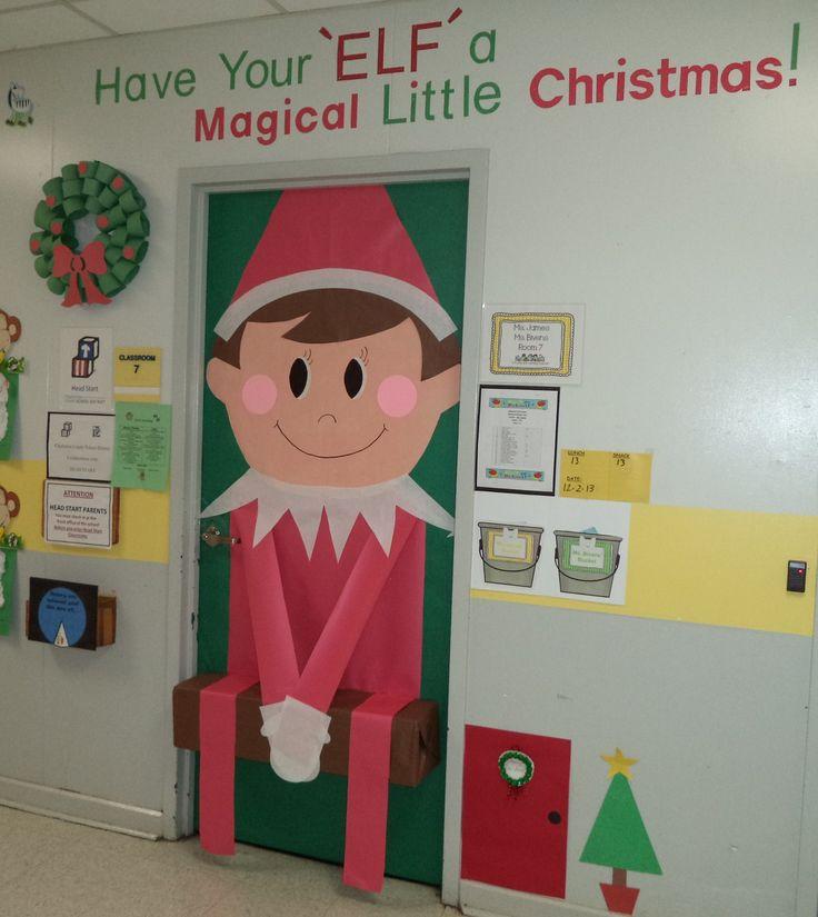 My classroom door Christmas 2013