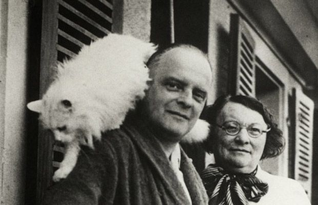 Paul Klee Cat's Name: Bimbo  It is not certain whether Bimbo was the subject of Paul Klee's 1928 painting Cat and Bird, but this photo shows...