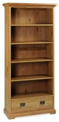 Provence Oak Wide Bookcase  http://solidwoodfurniture.co/product-details-oak-furnitures-4059-provence-oak-wide-bookcase-.html
