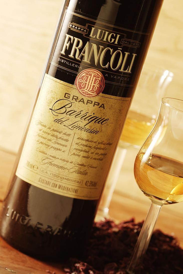 Grappa Luigi Francoli Barrique del Limousin #grappa #grappafrancoli