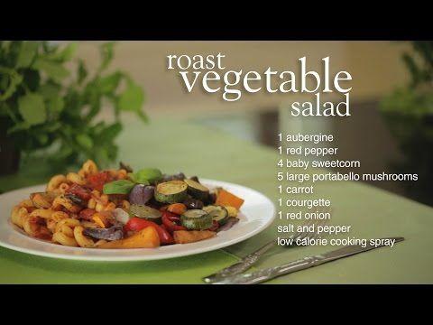 Slimming World roast vegetable salad - YouTube