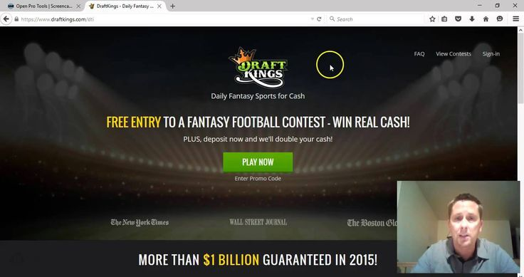 The Best Ultimate DraftKings Promo Code – jparker 100% Matching