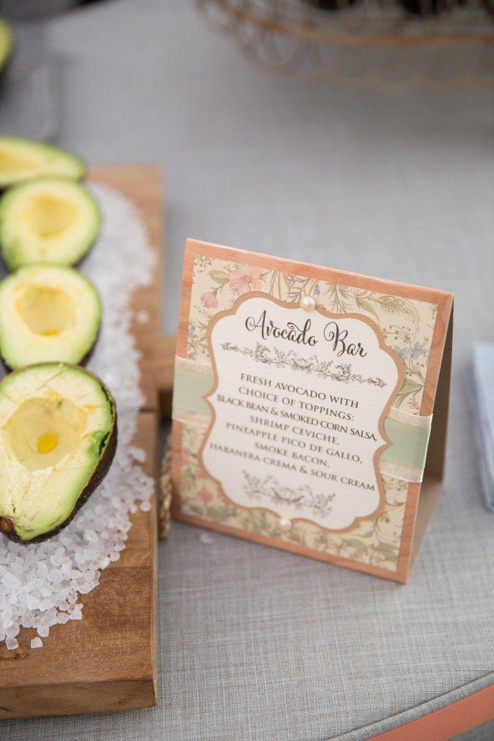 Romantic Texas Wedding In The Woods - MODwedding | Avocado Bar ...
