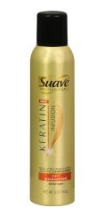 No time to wash your hair? Try new Suave Keratin Infusion Dry Shampoo! It refreshes your hair, extends your blowout and revives volume all without that powdery mess. Best of all, it is a bargain at $3 - $4 at a drugstore near you. Move over Bumble and Bumble... there's a new dry shampoo in town!