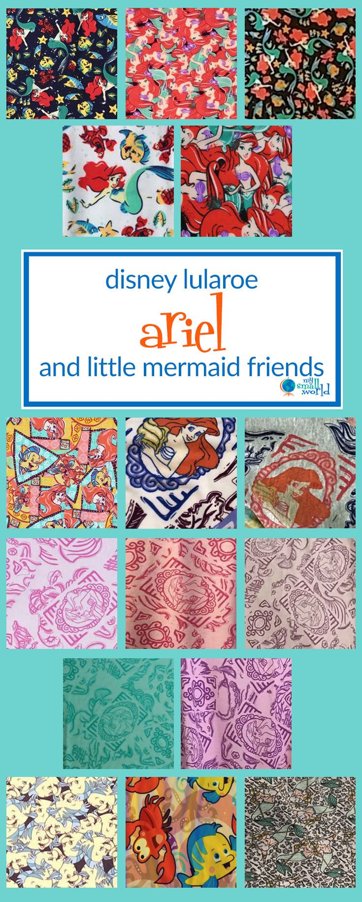 6879de317f08cb The search for LuLaRoe Disney Princess prints is over! As of December 2017,  there are now Ariel, Aurora, Belle, Jasmine, Pocahontas, and Snow White  prints ...