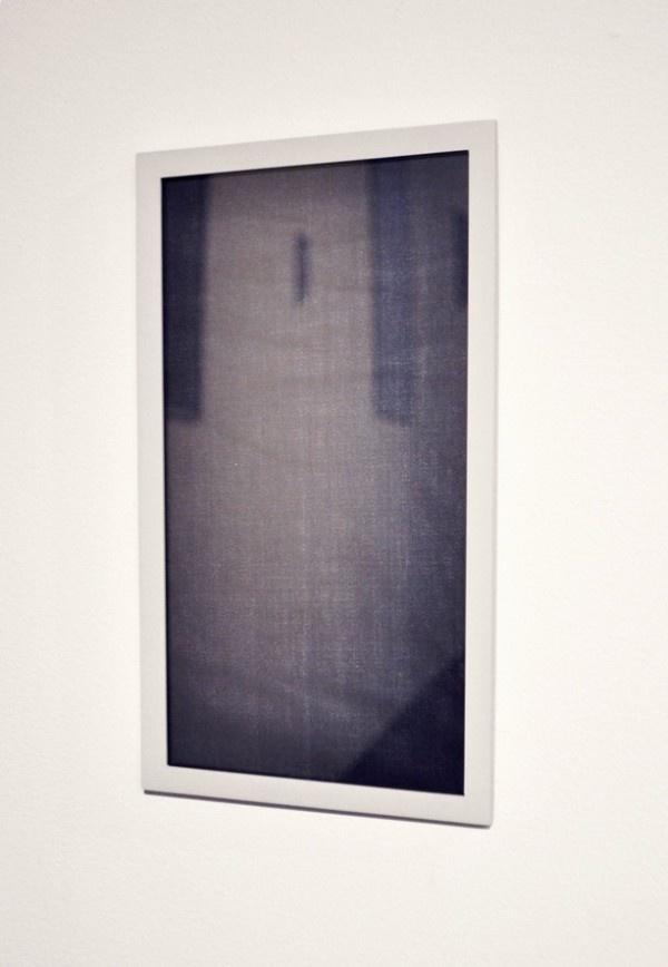 Nina Beier, What Follows Will Follow II (2010). One of 18 photographic C-prints, various dimensions. Framed photographs of work extracted from the installation shots of a previous exhibition.