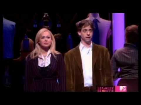"Not be outdone by Andy, here's Christian Borle giving a great performance in ""Legally Blonde the Musical""."